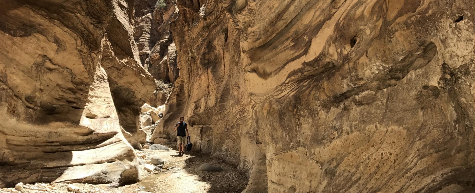 Voyage à pied : Cité rose, désert rouge et wadis émeraude