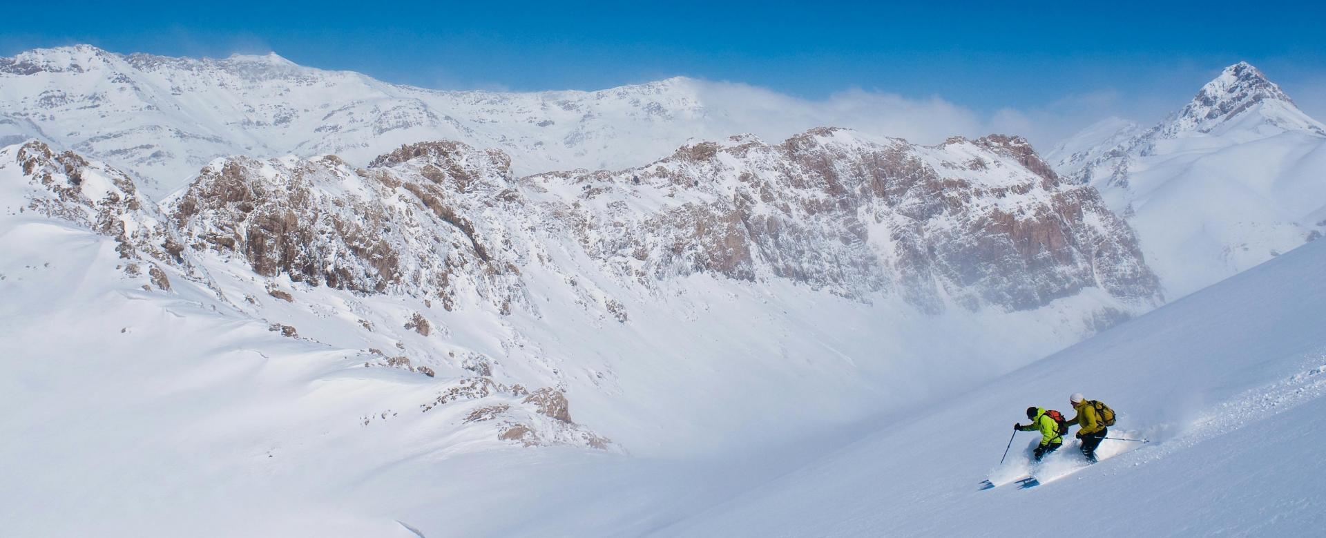 Voyage à pied : Massif de zagros ski, d\'ispahan à persépolis