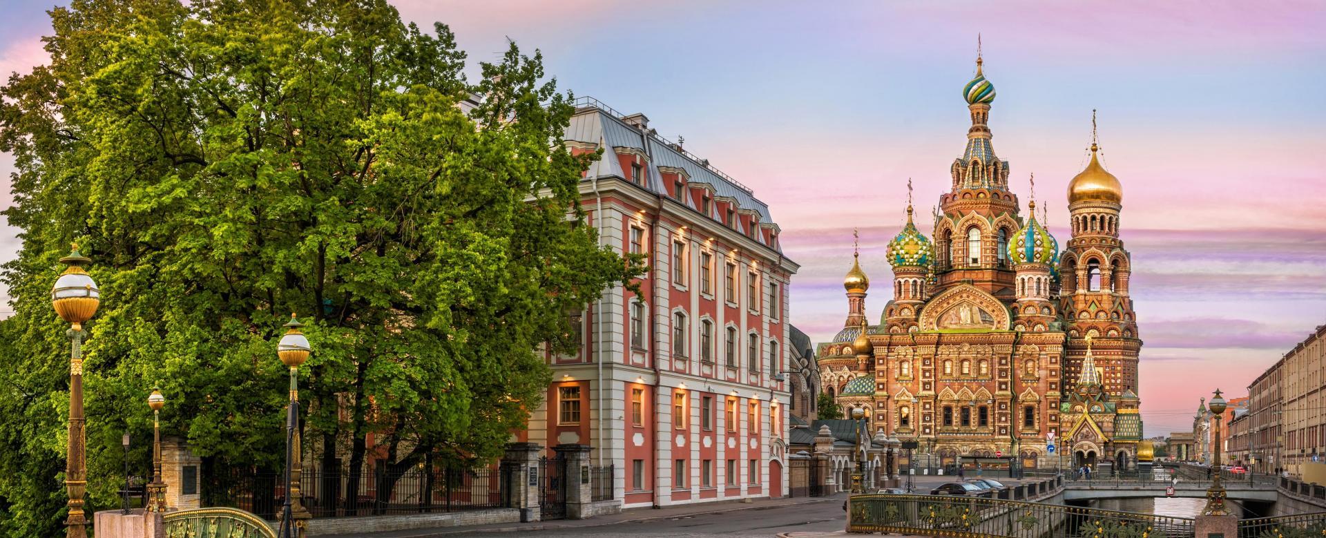 Voyage à pied Russie : Nuits blanches à saint-pétersbourg