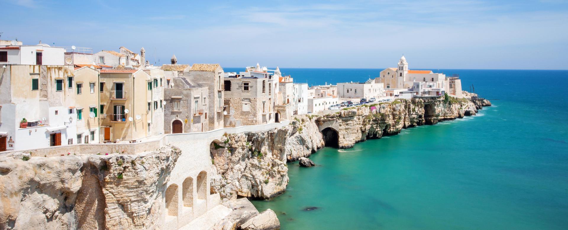 Voyage à pied Italie : Pouilles : le massif du gargano