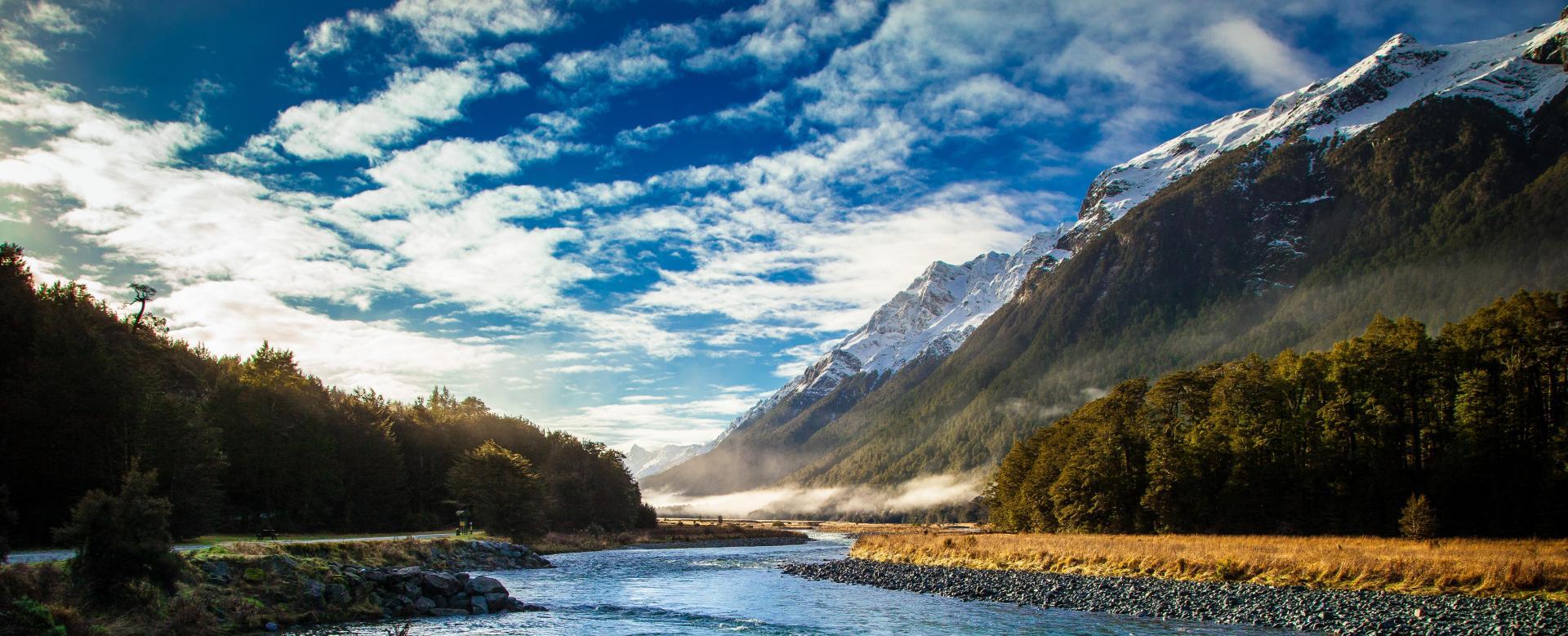 Voyage à pied : Trek en terre maorie