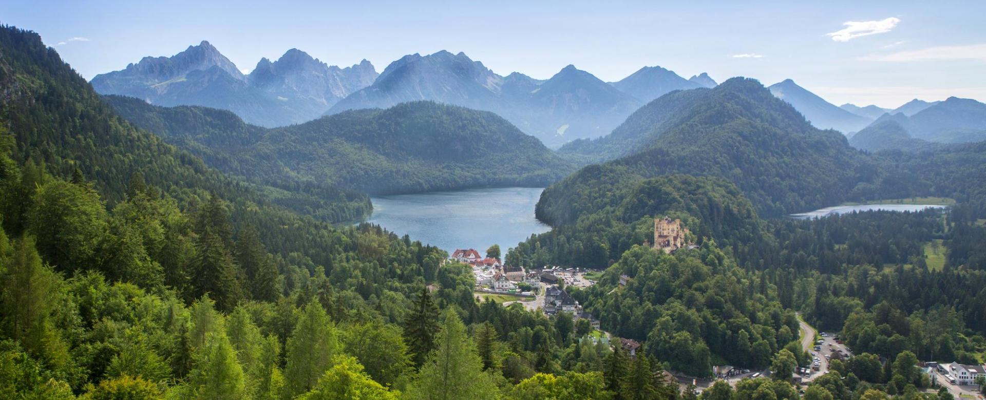 Voyage à pied : Allemagne : Montagnes baroques de bavière