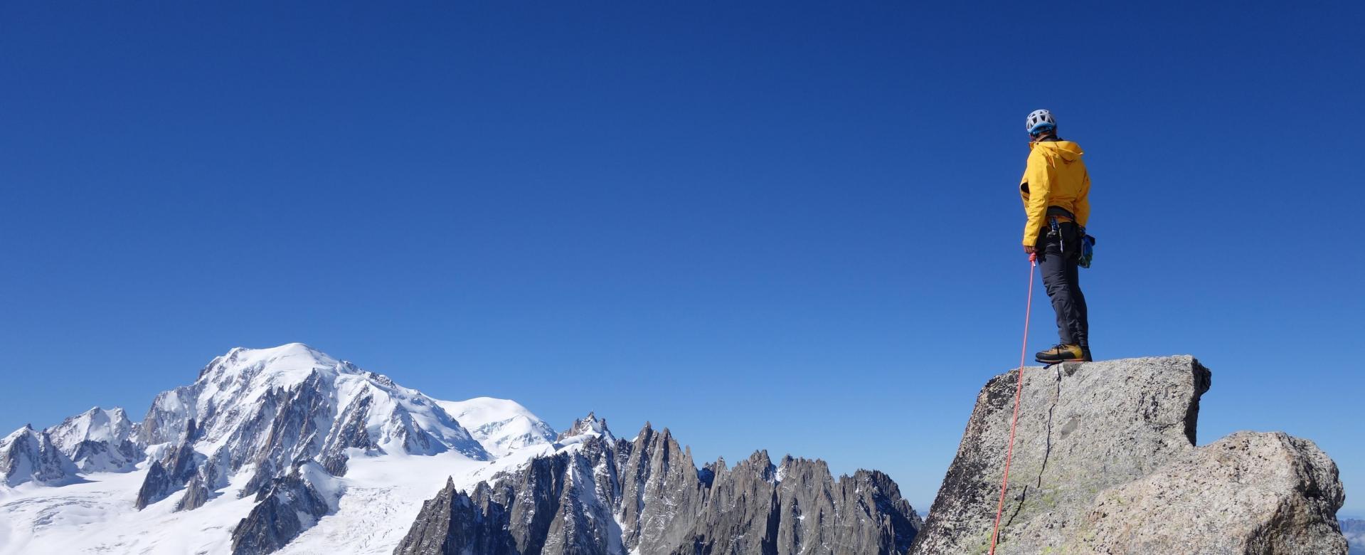 Voyage à pied : Mont Blanc : Préparation aux trekking peaks et expéditions