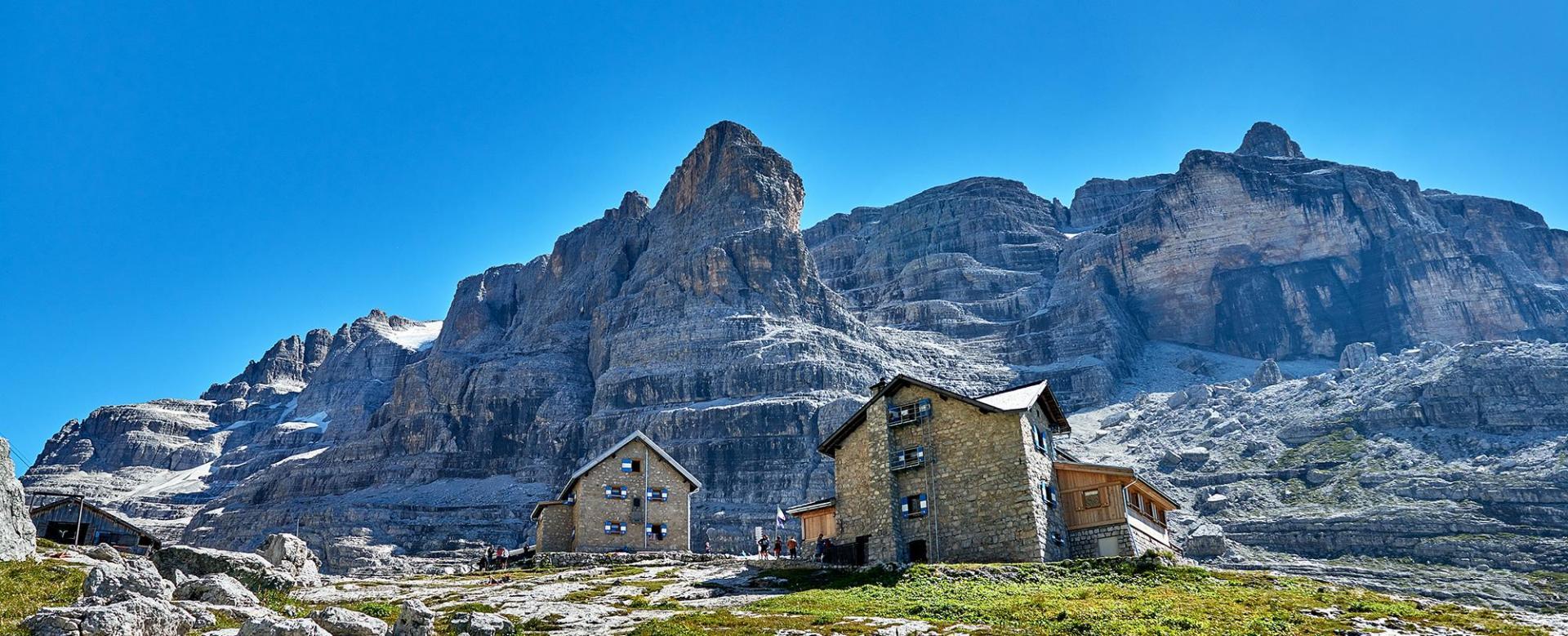 Voyage à pied Italie : Tour des dolomites de brenta