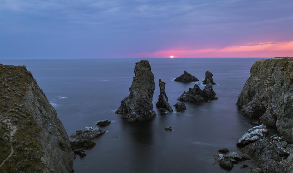 Image Belle-île-en-mer en étoile