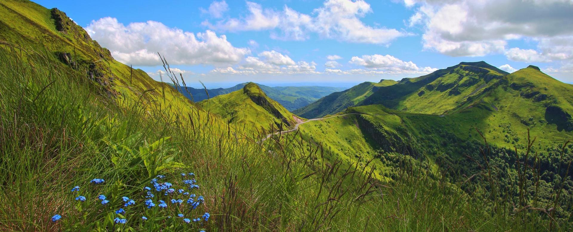 Voyage à pied France : Tour du cantal