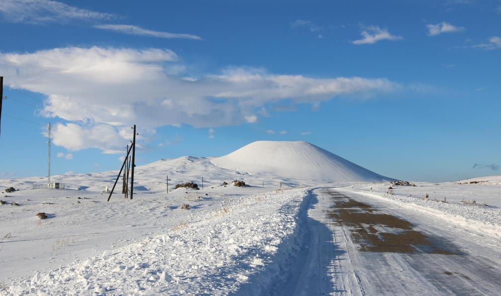 Image Les volcans d'arménie à ski