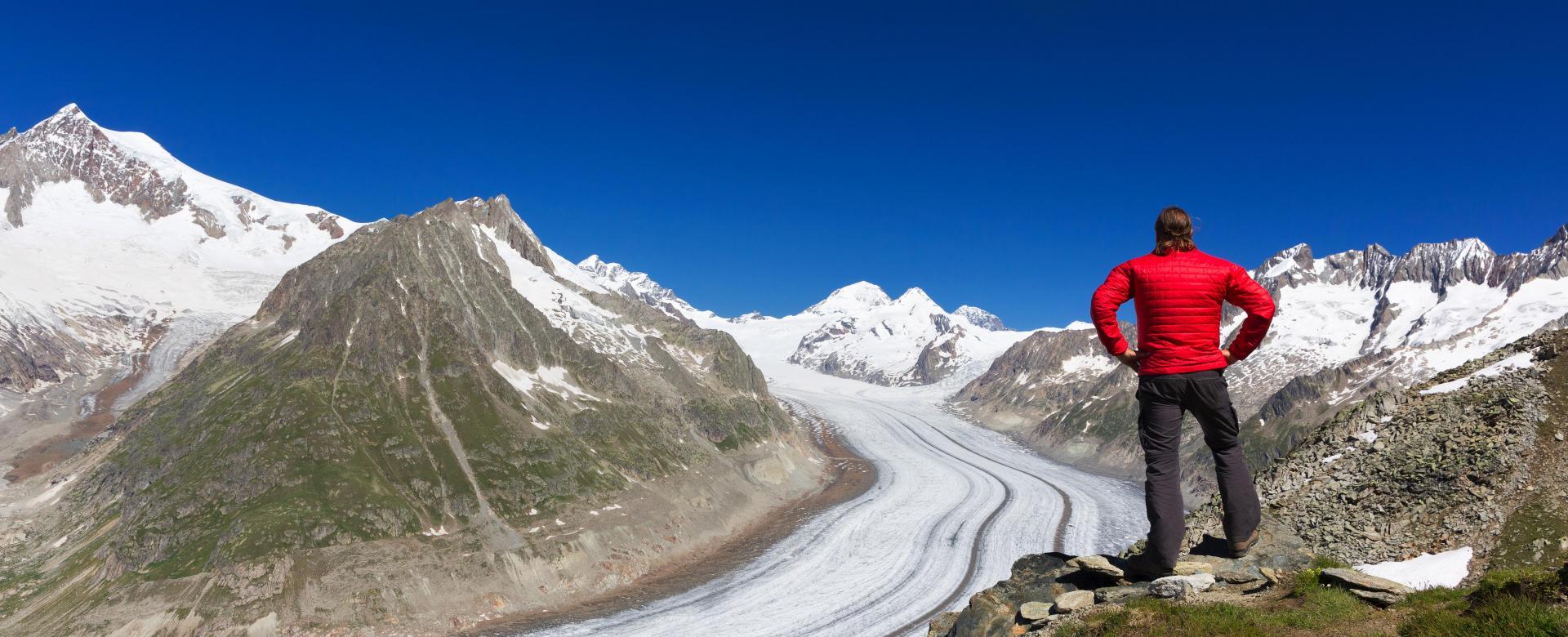 Voyage à pied Suisse : Rando-forme à aletsch