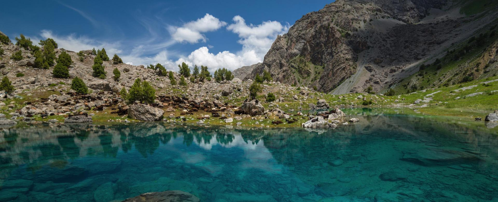Voyage à pied Tadjikistan : Les monts fanskye