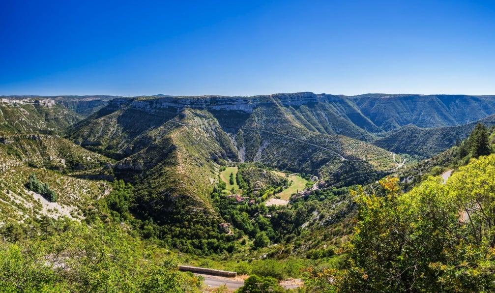 Image Languedoc et c'vennes à vélo
