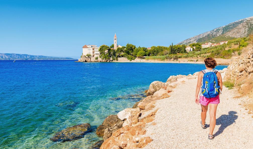 Image Parfum d'été sur les îles croates