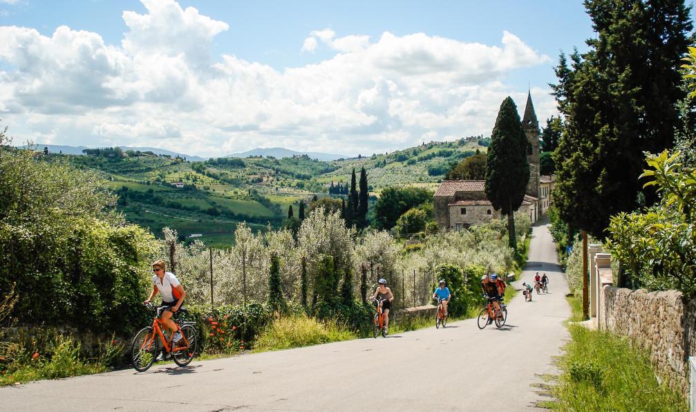 Image Pise à florence, la route de la renaissance à vélo