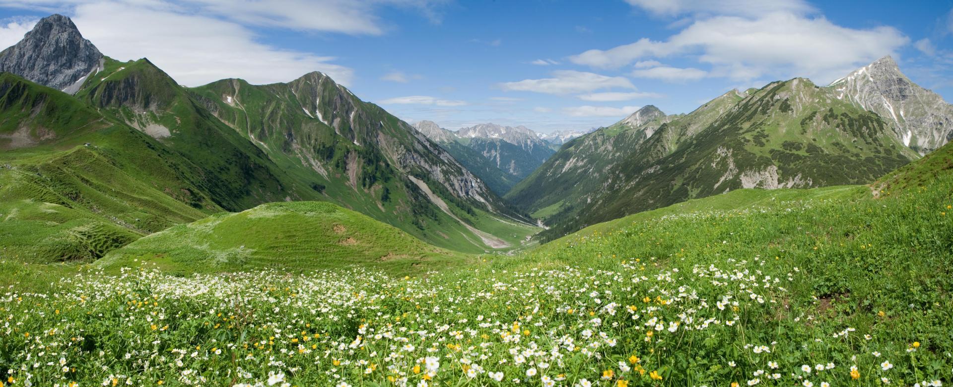 Voyage à pied : Autriche : Tyrol : rando-forme à lech