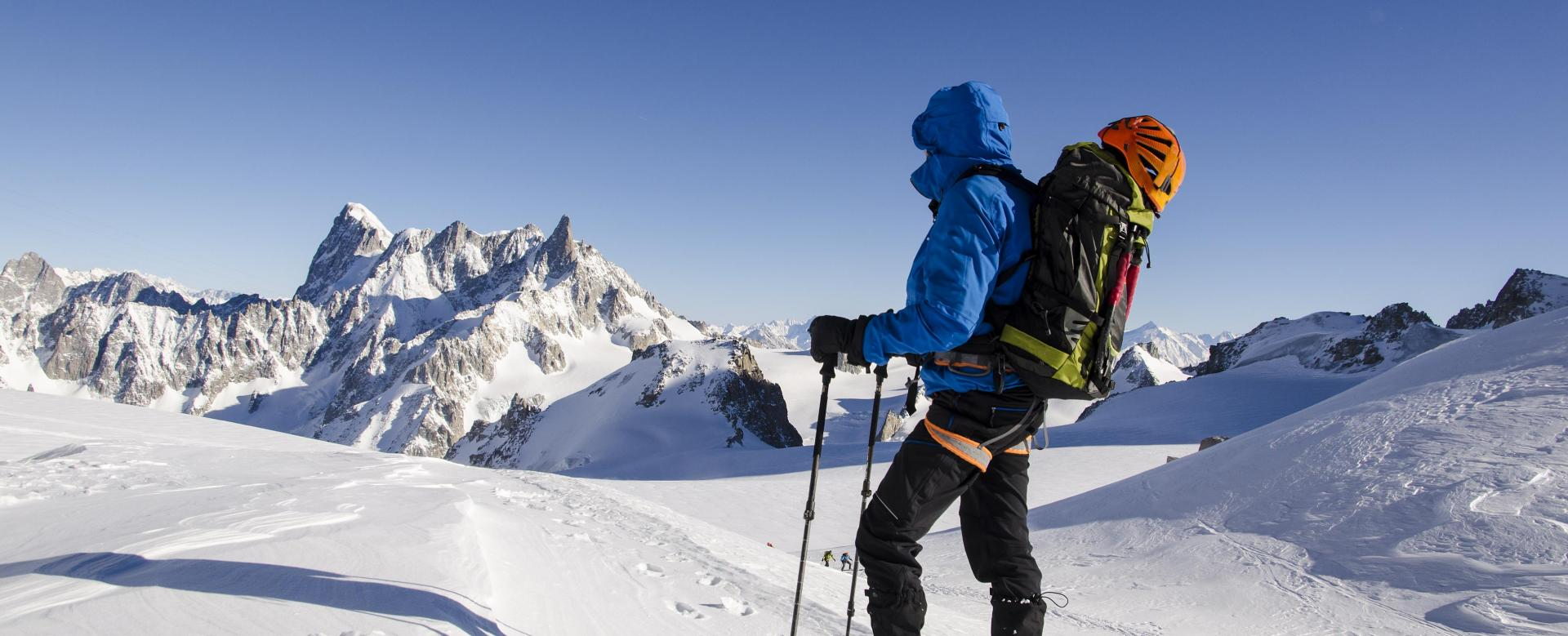 Voyage à la neige France : La vallée blanche
