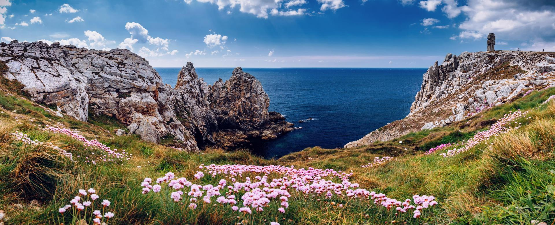 Voyage à pied : Bretagne : Presqu'île de crozon et ouessant