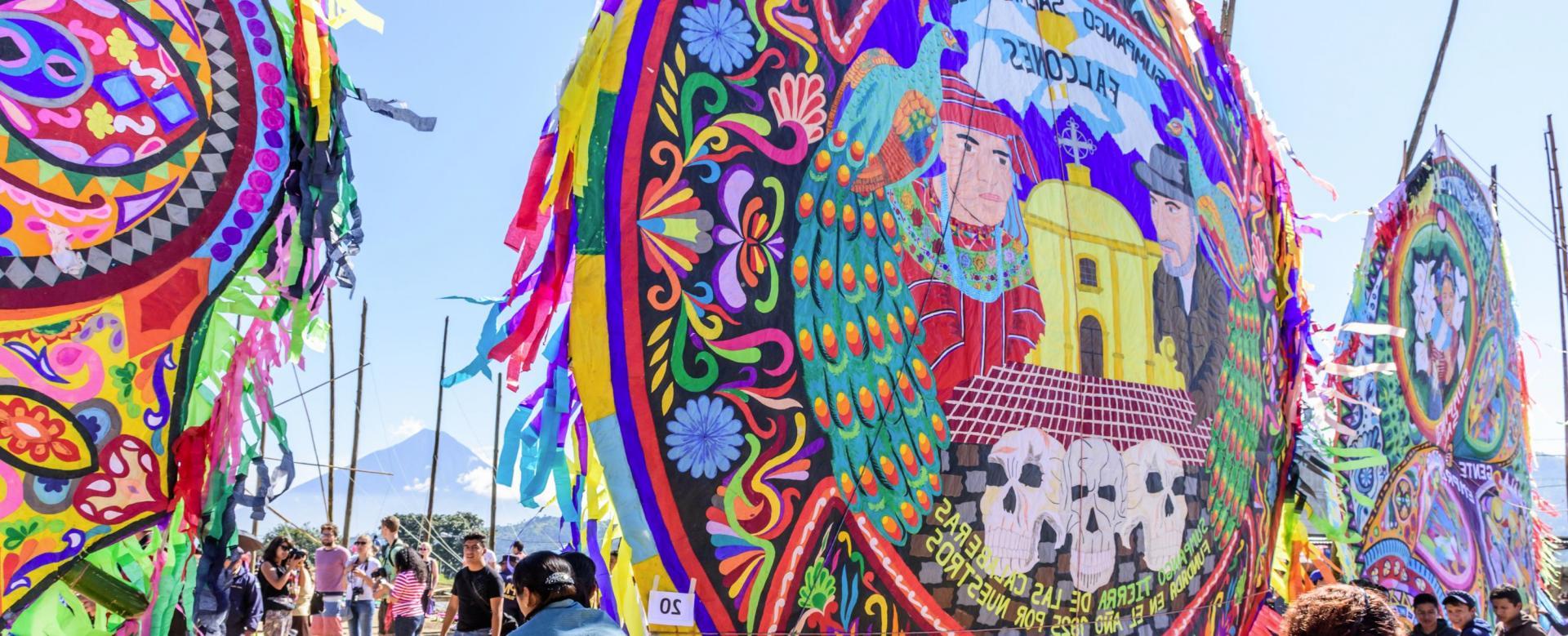 Voyage à pied : Guatemala : Volcans, tikal et festival des cerfs-volants