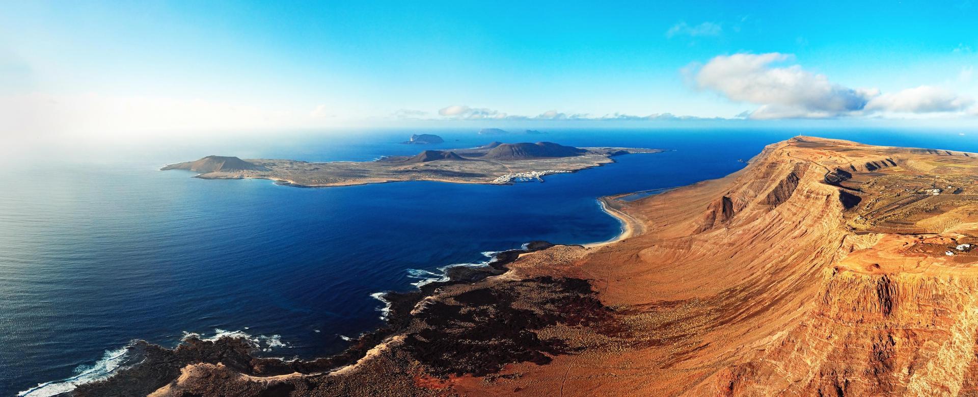 Voyage à pied Espagne : Fuerteventura et lanzarote