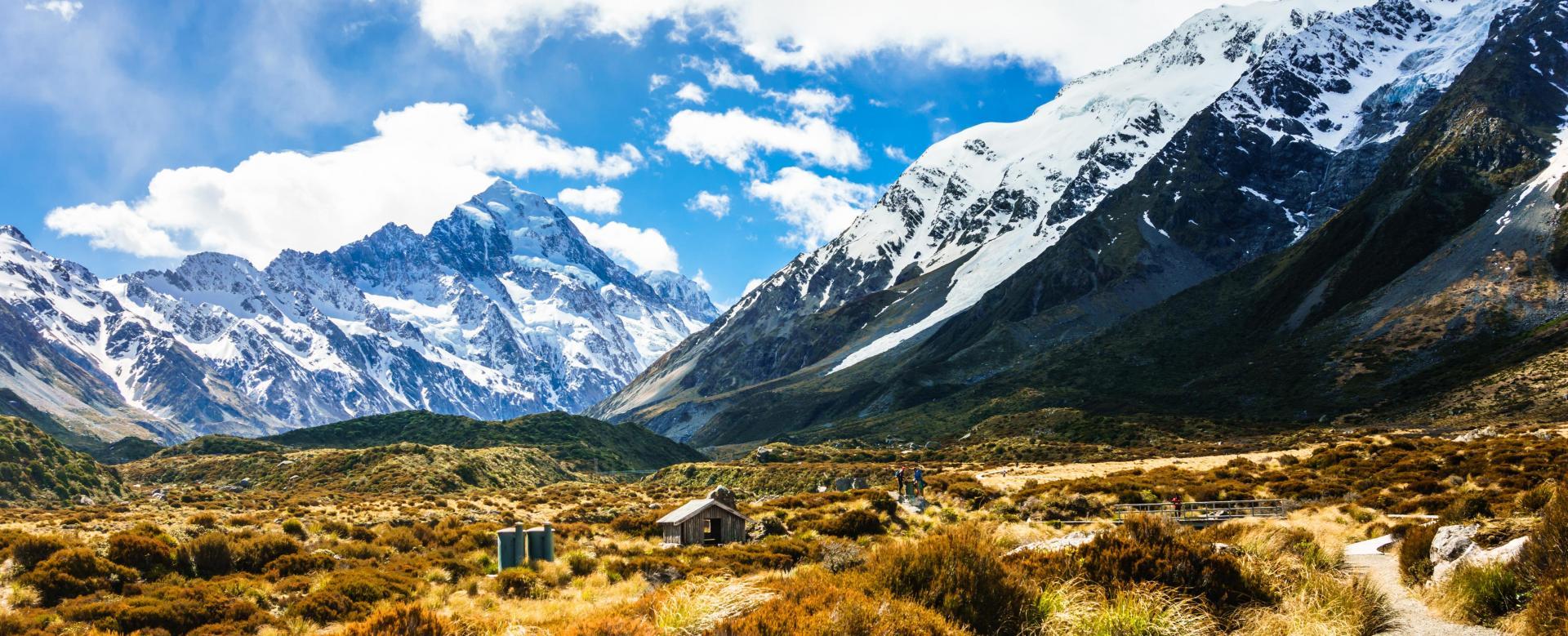 Voyage à pied : Grand tour de la nouvelle-zélande