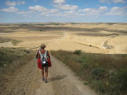 Image Le chemin de compostelle en espagne