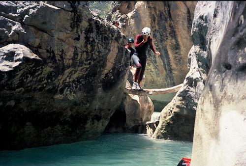Image Canyoning en sierra de guara