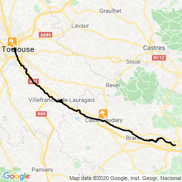 Itinéraire Week-end vélo électrique le long du canal du midi
