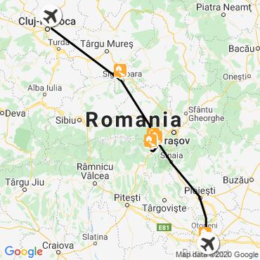 Itinéraire Roumanie : transylvanie et carpates