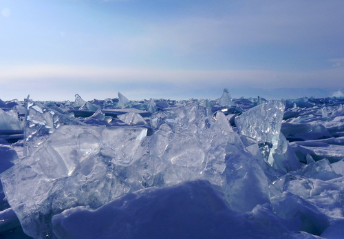 Image Aventure au baïkal en hiver