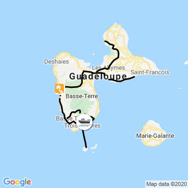Itinéraire Guadeloupe, paradis tropical