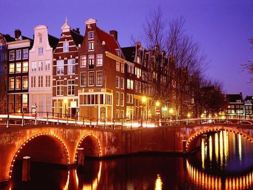 Image Les merveilles de hollande à vélo
