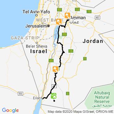 Itinéraire La route des bédouins