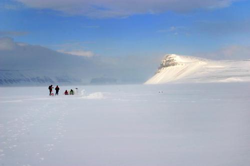 Image Ski ou raquette : le glacier von post
