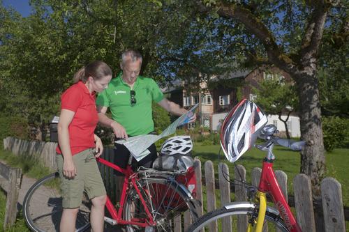 Image Salzbourg et les lacs à vélo