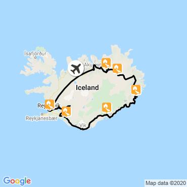Itinéraire L'île aux merveilles