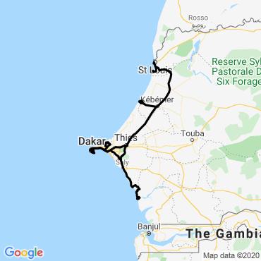 Itinéraire De saint-louis au delta du saloum