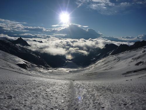 Image La haute route de l'oberland