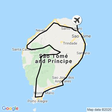 Itinéraire L'île cacao