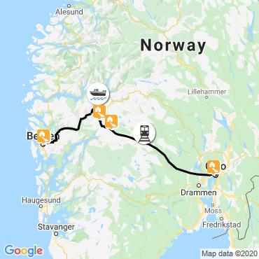 Itinéraire Raquette et ski nordique entre fjords et montagnes