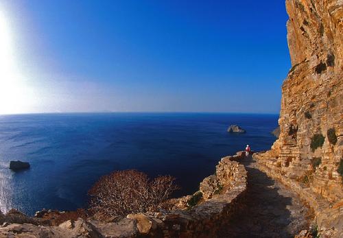 Image Naxos, amorgos : un rêve en bleu et blanc