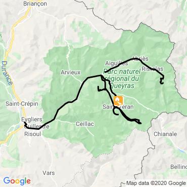 Itinéraire Découverte du queyras depuis saint-véran
