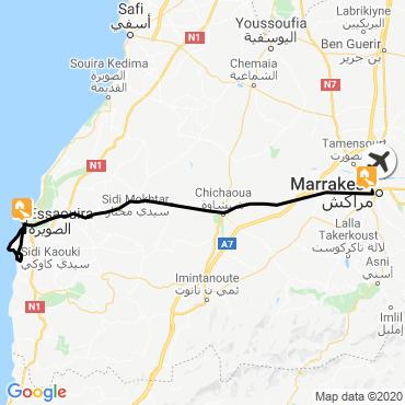 Itinéraire Rando bien-être à essaouira