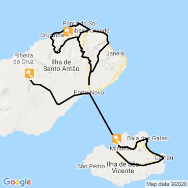 Itinéraire Carnaval métis de mindelo