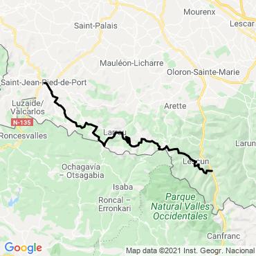 Itinéraire La grande traversée des pyrénées (2)
