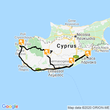 Itinéraire Chypre, la déesse