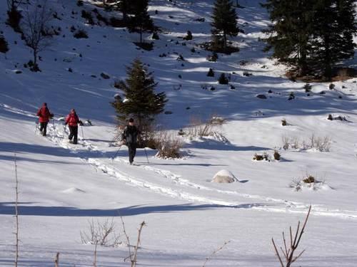 Image Le triglav sous la neige