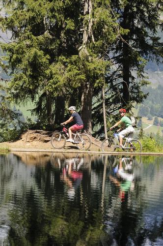 Image Entre beaufortain et mont-blanc à vélo électrique