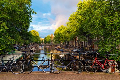 Image De bruges à amsterdam à vélo