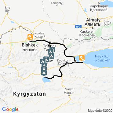 Itinéraire Kirghizie, aventure nomade