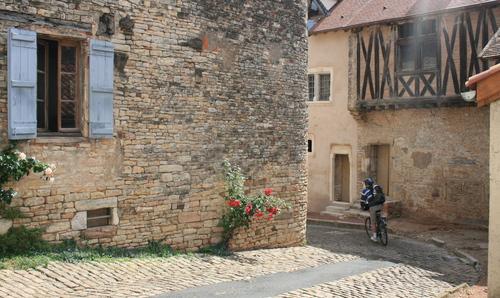Image La bourgogne à vélo en famille