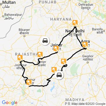 Itinéraire Rajasthan : palais, temples et tigres