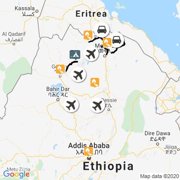 Itinéraire Fascinante ethiopie